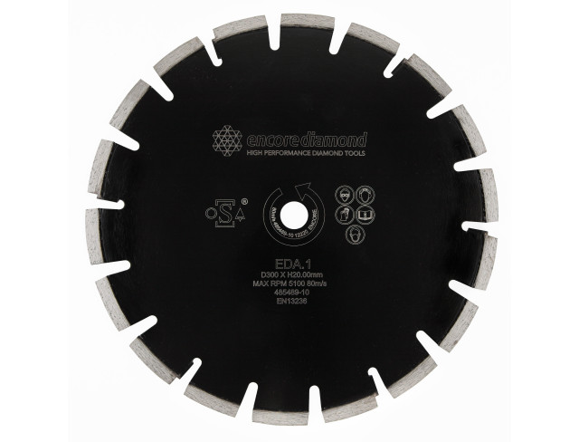 EDA.1 - Superior Asphalt Diamond Blade