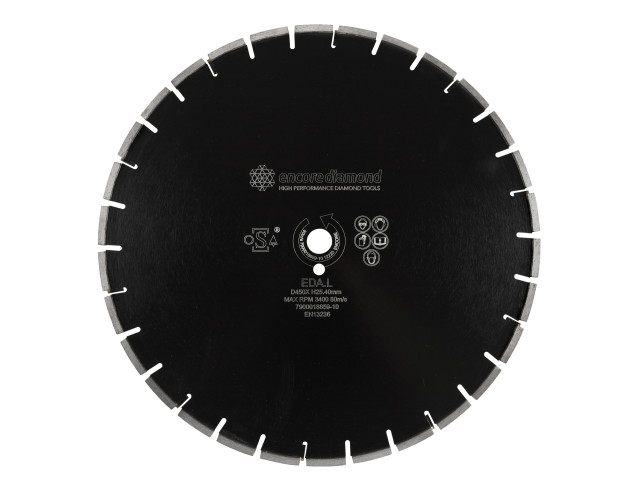EDA.L.T20 Superior Asphalt T20mm Wide Loop Cut Diamond Blade
