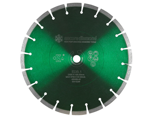 EDB.1 - Superior Dual Purpose (Concrete & Asphalt) Diamond Blade