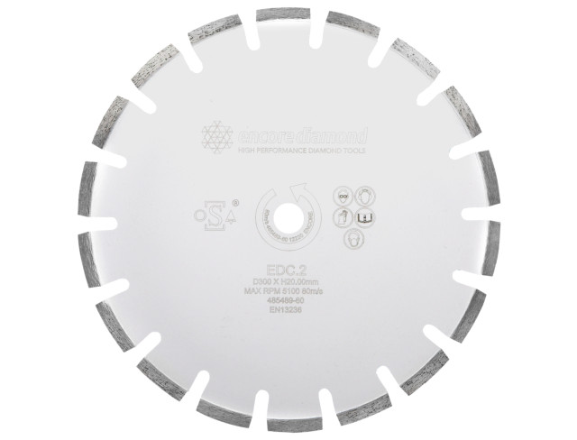 EDC.2 Superior Reinforced Concrete Cutting Diamond Blade