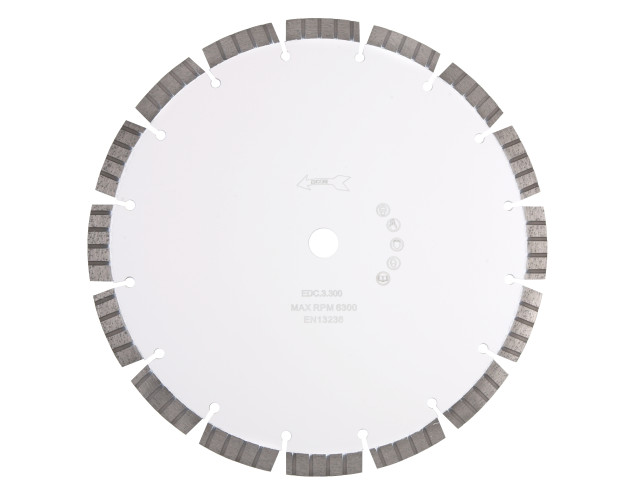 EDC.3 - Premium Fast Concrete Cutting Diamond Blade