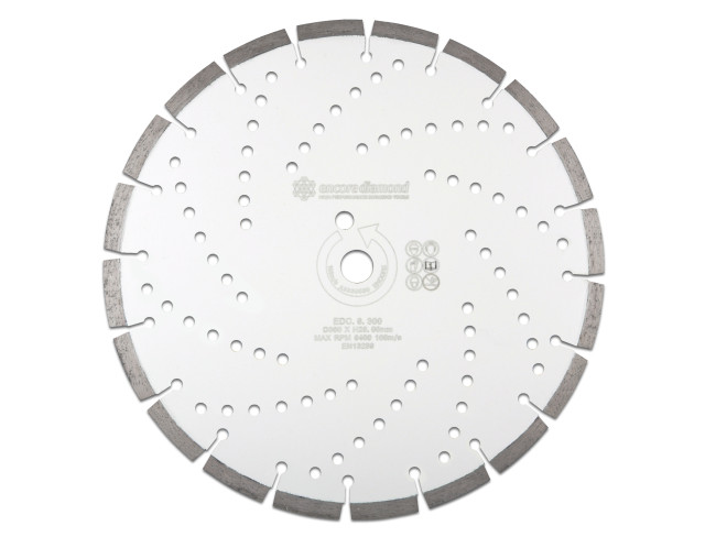 EDC.6 - Mid-Range Concrete & General Purpose Diamond Blade - 230mm~400mm