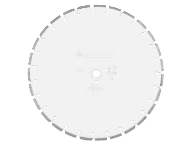EDC.L.T10 - Superior Concrete T10mm Wide Loop Cut Diamond Blade