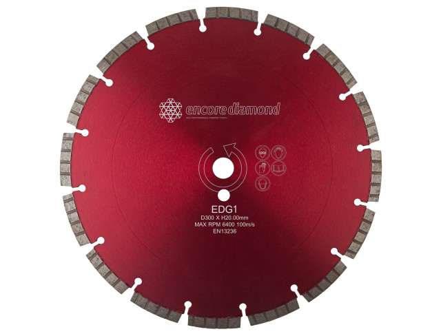 EDG.1 - Superior Granite Fast Cutting Diamond Blade