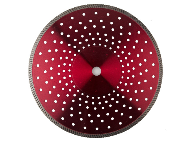 EDG.2 - Superior Granite Super Fast Cutting Blade Continuous Rim Turbo Diamond Blade