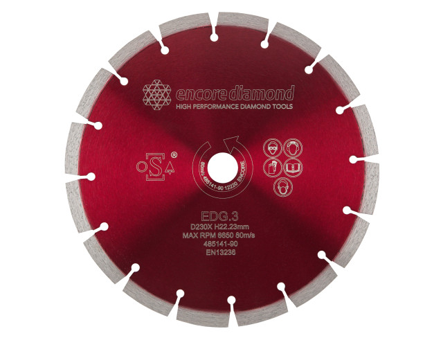 EDG.3 - Superior Granite Long Life Diamond Blade